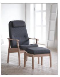 Farstrup Quick Shipment  - Actie fauteuil Applaus met verstelbare rug  - levertijd  3 weken