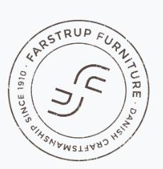 Farstrup Deense maatwerk fauteuils,  craftmanship since 1910  - met oog voor duurzaamheid