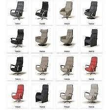 Relaxfauteuil Twice - zeer comfortabel,  elektrisch verstelbaar- deze fauteuils zijn leverbaar in de maten XS t/m XXL en met een opsta systeem