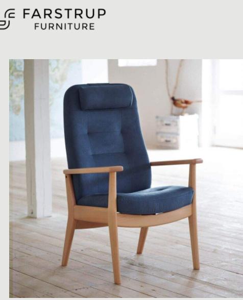 Farstrup Deense ergonomische comfort fauteuil - Plus, blinkt uit in zitcomfort