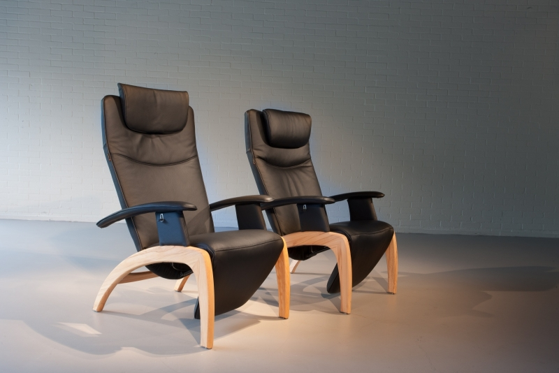 Mooie Design Fauteuils.Skalma Design Fauteuil Woody In Leder Of Stof Mooi En
