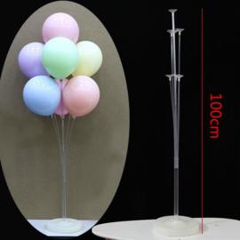 LED Ballon XL standaard / statief 100 cm - ballonnen boom