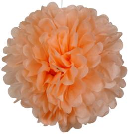 5 x PomPom pfirsich orange 35 cm
