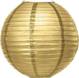 Lampion goud 25 cm