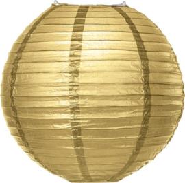Gold lampion 25 cm
