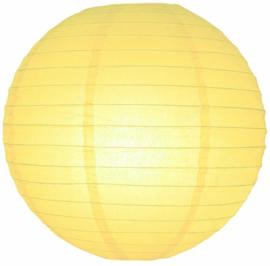 5 x Lampion licht geel 25 cm