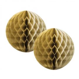 Gouden Honeycomb 35 cm
