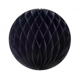 Zwarte Honeycomb 35 cm