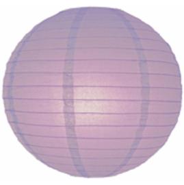 Lampion licht paars 25 cm