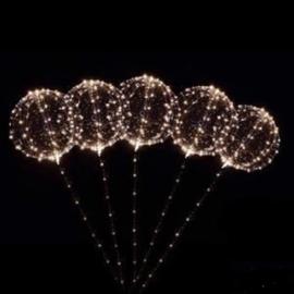 LED Ballon XXL - warm wit - 60 cm
