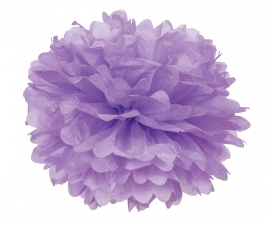 PomPom hellviolett 35 cm