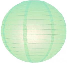 Minze grün lampion 25 cm