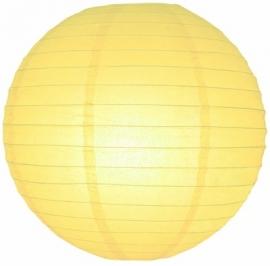 Lampion jaune clair 25 cm