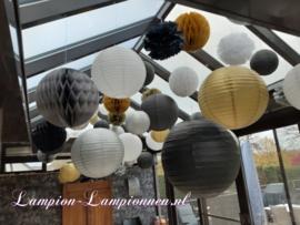 Lampion goud 75 cm