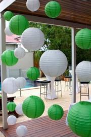 Lampion groen 75 cm