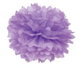 5 x PomPom hellviolett 35 cm