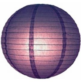 Lampion paars 35 cm
