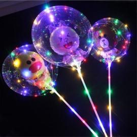 5 x LED Ballon stokje 70 cm