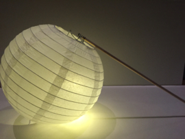 5 stuks verlichte lampion met stokje