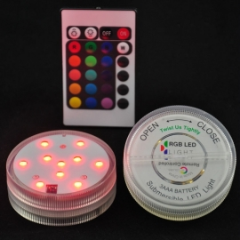LED Dekoration unit 7 cm Multicolor