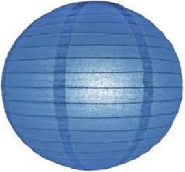 Dunkelblau lampion 35 cm