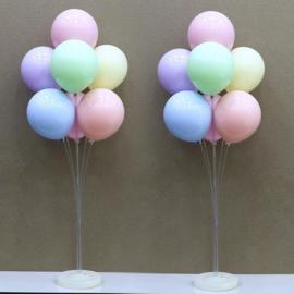LED Ballon XL standaard / statief 130 cm - ballonnen boom