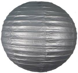 Lampion argent 35 cm
