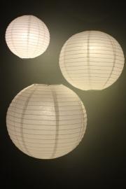 Lampion blanc 45 cm