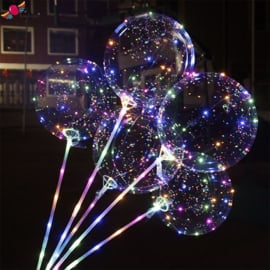 Led Ballon XL Stab 70 cm
