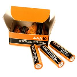 3 x  AAA-Batterien Duracell Industrial