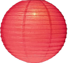 Lampion rouge de 75 cms, rétardateur de flamme
