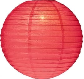 Lampion rouge 25 cm