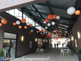 Kombination-Paket ORANGE - weiß - hellorange - orange