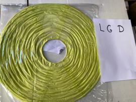 Lampion licht groen D 45 cm (koopjeshoek)