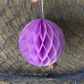 Licht paarse Honeycomb 35 cm
