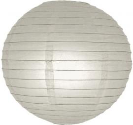 Lampion grijs 25 cm