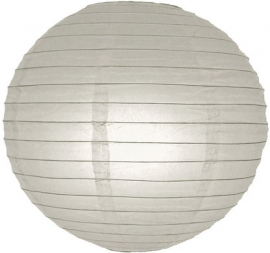 Lampion gris 25 cm