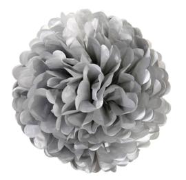 PomPom silber 35 cm