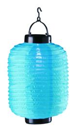 Solar lampion blauw 35 cm (zonne-energie)