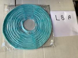 Lampion licht blauw A 35 cm (koopjeshoek)