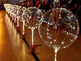 LED Ballon XL - warm wit - 40 cm