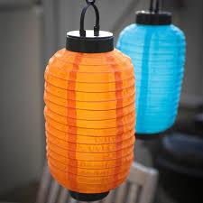 Solar lampion oranje 35 cm (zonne-energie)