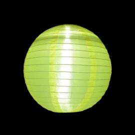 5 x Solar Lampion rund gelb 35 cm (Solarenergie)