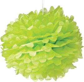 5 x PomPom hell grün 35 cm