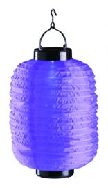 Solar Lampion violett 35 cm (Solarenergie)