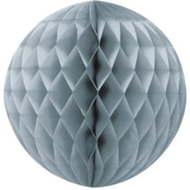 Honeycomb / Wabenball silber 35 cm
