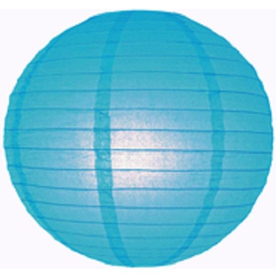 Lampion blauw 35 cm