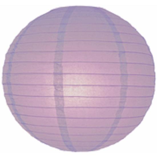 Lampion licht paars 45 cm