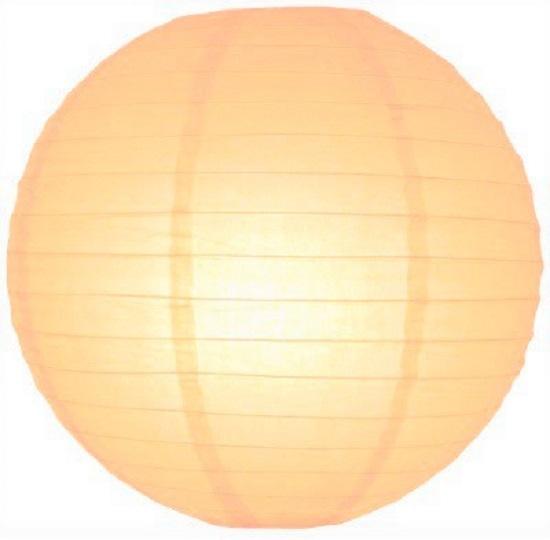 5 stuks lampion perzik 35 cm