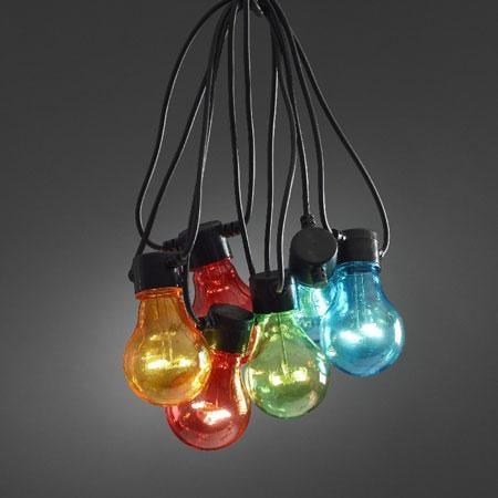 Startset LED lichtslinger - multicolor - 10 meter